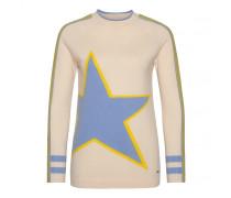 Schurwoll-Pullover HAZEL für Damen - Sesame/Multicolor Pullover
