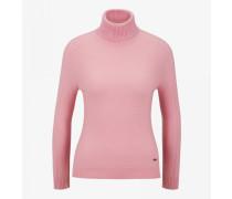 Kaschmir-Pullover Vivien für Damen - Flamingo pink Pullover