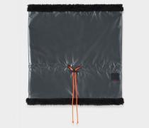 Loop-Schal Trixi für Damen - Silber/Schwarz Loop-Schal