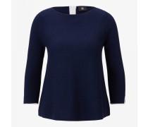 Kaschmir-Pullover Georgina für Damen - Navy blue Pullover