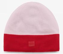 Strickmütze Palina für Woman - Rot/Rosa