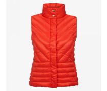 Daunenweste Fay für Damen - Red-Orange