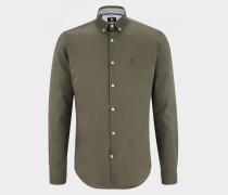 Hemd Timi für Herren - Olivgrün Hemd