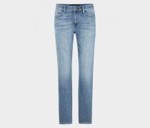 Regular Fit Jeans Rob für Herren - Blue Stone Washed