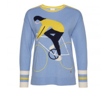 Schurwoll-Pullover VRENI für Damen - Bubble/Multicolor Pullover