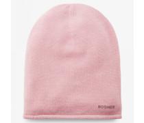 Kaschmir-Strickmütze Marin für Woman - Flamingo-Rosa