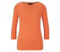 Longsleeve Louna für Damen - Orange Longsleeve
