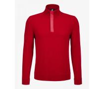 Strickpullover Ed für Herren - Rot Pullover
