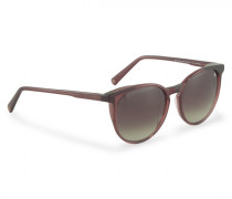Sonnenbrille Davos - Bordeauxrot
