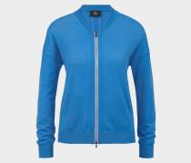 Strickjacke Colina für Damen - Royal-Blau Strickjacke