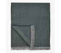 Schal Scarf für Herren - Olive/Gray