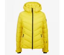 Ski-Daunenjacke Sassy für Woman - Gelb