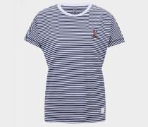 T-Shirt Olive für Damen - Navy-Blau T-Shirt