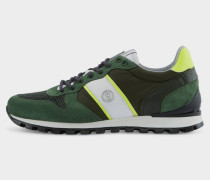 Sneaker Porto für Herren - Grün/Khaki Sneaker
