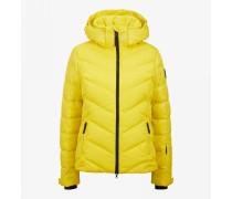 Ski-Daunenjacke Sassy für Damen - Yellow