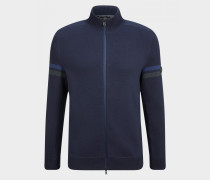 Strickjacke Perth für Herren - Navy-Blau Strickjacke