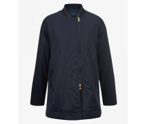 Leicht ausgestellte Jacke Evelina für Woman - Navy-Blau Jacke