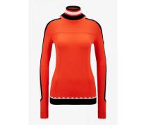 Strickpullover Harper für Damen - Red-Orange