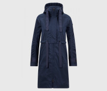 Parka Kamie für Damen - Navy-Blau