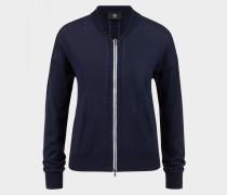 Strickjacke Colina für Damen - Navy-Blau Strickjacke