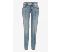 Jeans Greta für Damen - Light blue denim