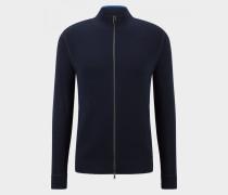 Strickjacke Laurent für Herren - Navy-Blau Strickjacke