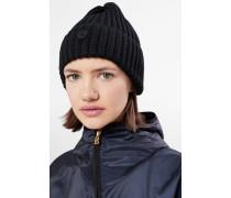 Strickmütze Emira für Woman - Navy-Blau