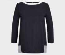 Blusen-Shirt Inja für Damen - Schwarz-Blau