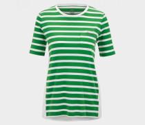 T-Shirt Augusta für Damen - Grün/Weiß T-Shirt