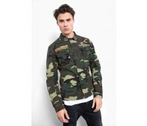 Baumwollhemd Bes camouflage