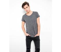 T-Shirt Milo mélange grau