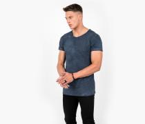 Basisc Shirt Vito Slub blau