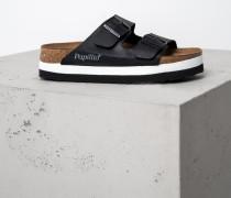 Sandale Arizona Platform schwarz
