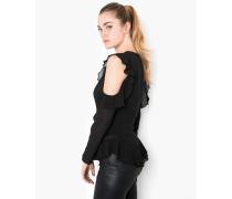 Lange Bluse Aiste schwarz