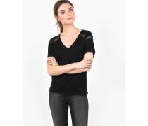 Basic Shirt Avalyn schwarz