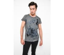 T-Shirt Howling Wolf MSN grau