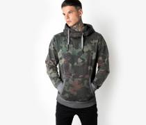 Kapuzenpullover Grem camouflage