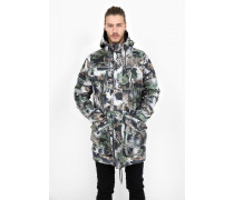 Parka Percy camouflage