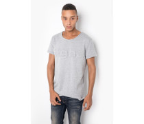 Print T-Shirt Milo Sweat Logo grau