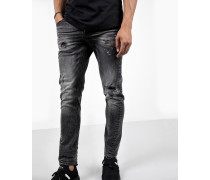 Jeans Billy the kid 9903 ripped grau