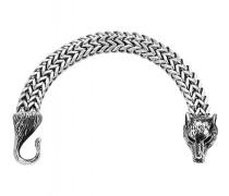 Armband Steel Wolf 1249 silber