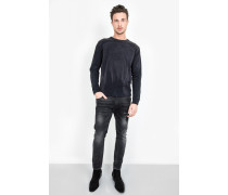 Sweatshirt Sundye Logo Sweater schwarz