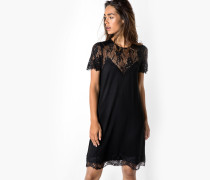 Jerseykleid Soma schwarz