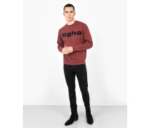 Sweatshirt Logo Sweater rot