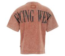 Herren T-Shirt Sky braun (vintage woody brown)
