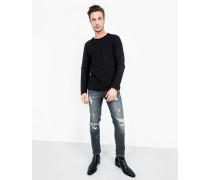 Sweatshirt Milo Sweat LS schwarz