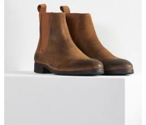 Herren Chelsea Boots Albie braun (cow suede hazelnut)