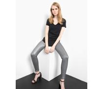 Skinny Fit Ania silver silber