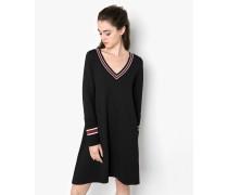 Jerseykleid Lagata schwarz