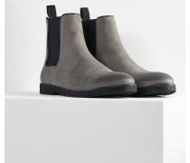 Herren Chelsea Boots Madalo grau (cow suede asphalt)